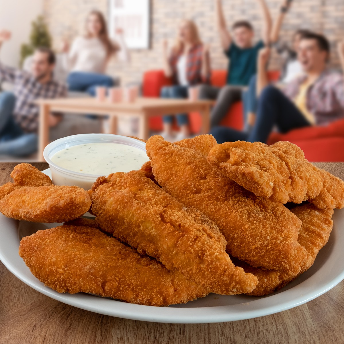 Family-Sized Chicken Tenders