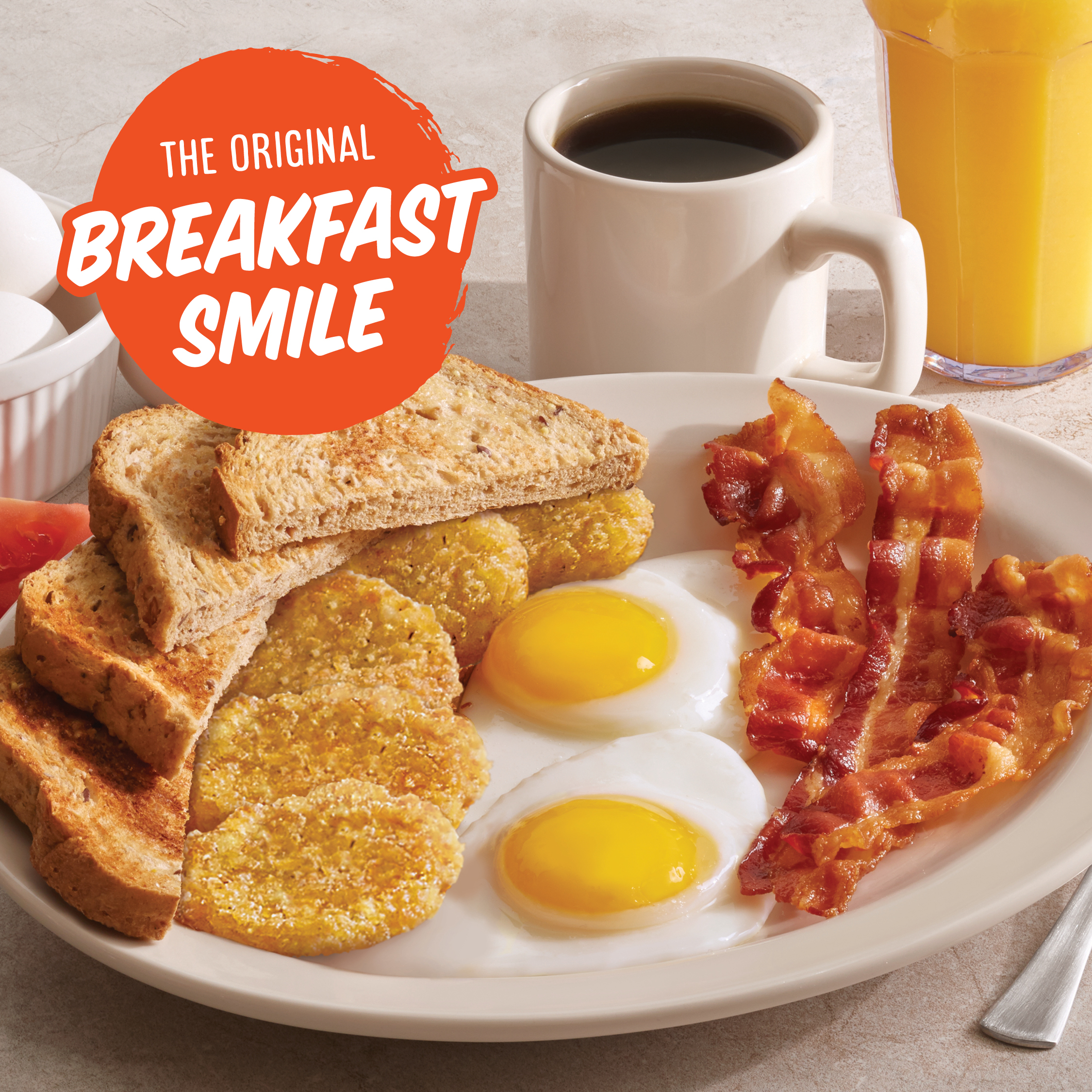 The Original Breakfast Smile Promo